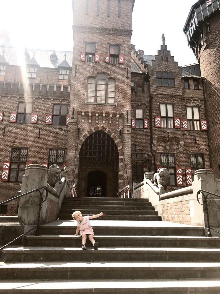 Ingang kasteel de Haar
